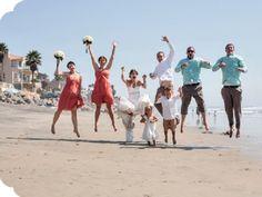Vow renewals, beach wedding, beach elopement, beach venue,A La Plage Beach Weddings in San Diego,760 295-3797