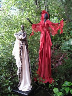 Powertex sculptures by Faeries with Attitude