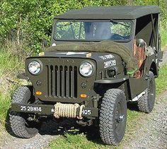 * Willys Jeep CJ-3 *