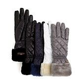 UGG� Australia Quilted Tech Fabric Gloves