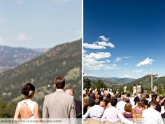 Jen And Kevin Were Married In Estes Park At The Ymca Of Rockies Mountainside Chapel Is Tucked Away Up Mountains With
