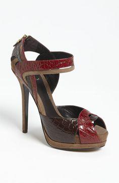 Fendi 'Let Me In' Ankle Strap Sandal available at #Nordstrom
