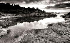 Black And White  scenery HD Wallpaper