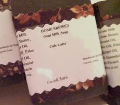 Cafe Latte' Goat Milk Soap by RagwearsofHope on Etsy, $8.00