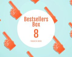 The Great Eight Bestsellers, 8 snack pack