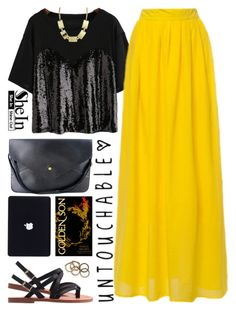 """Break the Chains"" by scarlett-morwenna ❤ liked on Polyvore featuring Rachel Leigh, vintage, women's clothing, women's fashion, women, female, woman, misses and juniors"