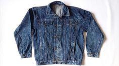 Woman/Man Oversize Acid Jacket / Man 90s Oversize Jeans Jacket / Man Levi Strauss Denim Jacket