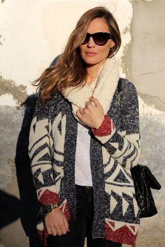 knitted cardi – lady addict | Lady Addict en stylelovely.com