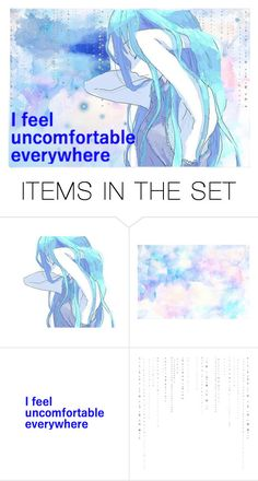 """""""Got A Hole In My Soul Growing Deeper"""" by marcykxx ❤ liked on Polyvore featuring art, anime and artset"""