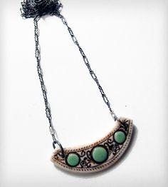 Milan Pendant Necklace - Robin's Egg Blue | Jewelry | Olaria Studio | Scoutmob Shoppe | Product Detail