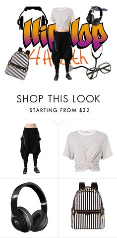 """""""hip hop"""" by mariapizzuto on Polyvore featuring moda, T By Alexander Wang, Beats by Dr. Dre, Henri Bendel e ZeroUV"""