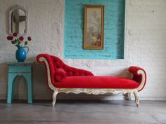 Chaise Lounge -so glamourous - always wanted one <3