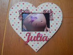 Porta maternidade de Coração, muito amor, Julia S2