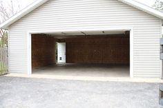 Detached two car Garage!