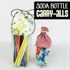 Soda Bottle Carry-Alls
