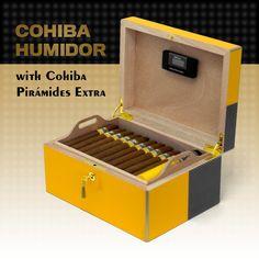 David's Prestigious Product Cohíba Cohiba Piramides Extra Humidor