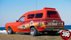 ONE of the most popular Ford vans of the panel van era was Doug and Janette Cundy's Mystic Illusions XY.