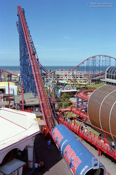 Pepsi Max Big One-rode this in blackpool. By far the scariest thing I've ever done-but so much fun!