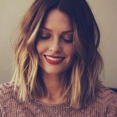 Haare glatten mit lockenstab