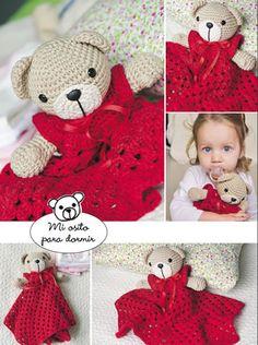 Mi osito para dormir - Amigurumi Crochet