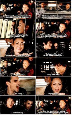 I love this scene || Jasper || Raven || Bellamy || Monty || Nathan || 3×1