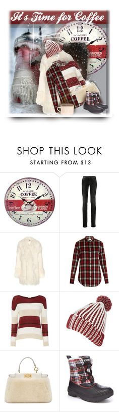 """""""Baby It's Cold Outside"""" by maison-de-forgeron ❤ liked on Polyvore featuring moda, Universal Lighting and Decor, Dolce&Gabbana, STELLA McCARTNEY, Yves Saint Laurent, Salsa, Fendi y Grace"""