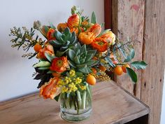 Citrus and Succulents