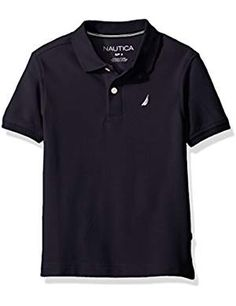 Nautica Short Sleeve Stretch Sport. * More info could be found at the image url. (This is an affiliate link) #PolosShirts