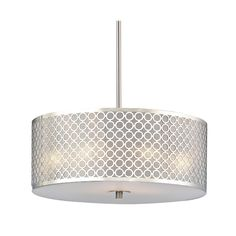 design classics milo modern three light drum pendant with milano shade dcl 6528 09 sh9462 destination lighting axis ceiling fixture ceiling fixture contemporary pendant