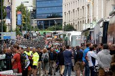 Tour de France (2014) Photos; Stage 1: Leeds → Harrogate, 191 km - Start scene in Leeds