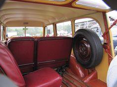 Willys Wagon Interior   1948 Willys Wagon Interior
