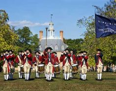 Williamsburg, VA is 3 hours from PHC. Students occasionally make the trek from school; some students have even interned with Williamsburg's historical reenactment program. Image from http://www.google.com