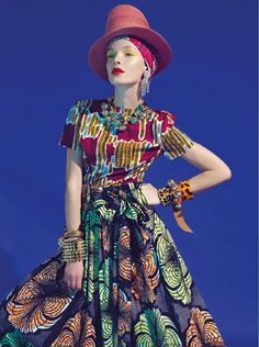 Spring 2014 trends - geographic. Stella Jean