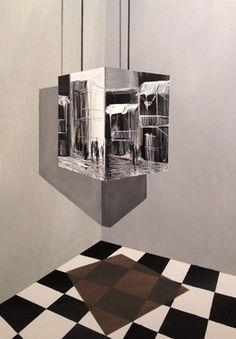 """Saatchi Online Artist Eka Peradze; Painting, """"SOLD.3D.road #49.. 50x70cm"""" #art"""