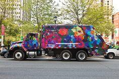garbage truck PHL