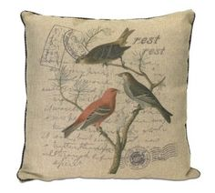 Polyester Bird Pillow Melrose International http://www.amazon.com/dp/B00T7XXB16/ref=cm_sw_r_pi_dp_Liqswb08A31WZ