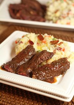 Potato, Cabbage and Bacon Colcanon with Irish Whiskey Steak — Creative Culinary :: Food & Cocktail Recipes - A Denver, Colorado Food & Cocktail Blog