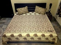 Handcrafted Rajasthani Print 100% Cotton Double Bed Sheet... http://www.amazon.in/dp/B01N4GAIO4/ref=cm_sw_r_pi_dp_x_1XLxyb0TYDZ81