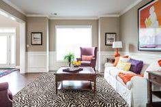 Arlington II Expanded Living Room