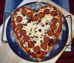 Vegan Valentine Pizza
