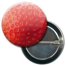 Badge Ø 38mm : FRAISE (FRUIT)