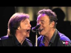 Paul McCartney & Bruce Springsteen - I Saw Her Standing There & Twist And Shout - YouTube