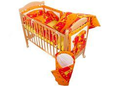 Povlečení do postýlky žirafa oranžová  299,00 Kč/ks (359 sleva) Bassinet, Toddler Bed, Furniture, Home Decor, Child Bed, Crib, Decoration Home, Room Decor, Home Furnishings