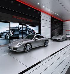 Porsche 911 Stand Concept on Behance
