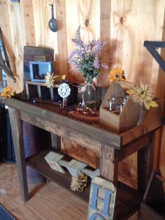 Rustic Table Made At Wooden Wonders Located In Waveland, In
