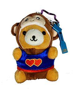 Adorable teddy bear phone battery!