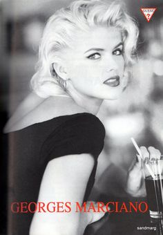 Top Models of the World: Anna Nicole Smith Anna Nicole Smith, Ann Nicole, Top Models, Guess Models, Guess Ads, Stephanie Seymour, Picture Outfits, Trophy Wife, Famous Women