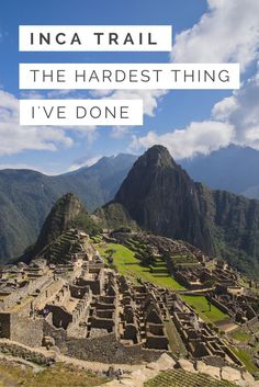 The Inca Trail to see Machu Picchu was perhaps one of the hardest things I've ever had to do as a traveller. Here are the hard truths about the hike that most people are too afraid to tell you about. Inka Trail, Travel Advice, Travel Tips, Travel Plan, Travel Stuff, Travel Hacks, Travel Ideas, Peru Travel, South America Travel