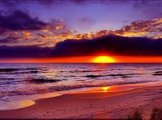 Beach Sunset - Sunsets Wallpaper ID 1984968 - Desktop Nexus Nature