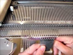 Knitting Machine Tutorial: Short Rows - YouTube